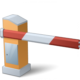 Barrier Closed Icon 256x256