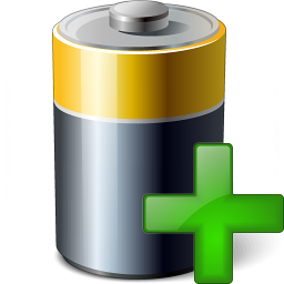 Battery Add Icon 256x256