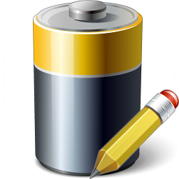 Battery Edit Icon 256x256