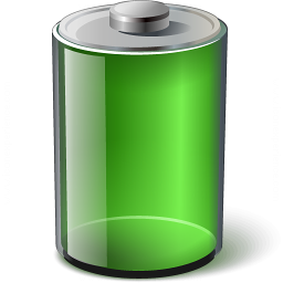 Battery Green Icon 256x256