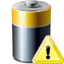 Battery Warning Icon 256x256