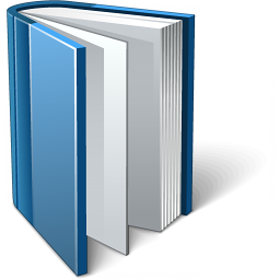 Book Blue Open Icon 256x256