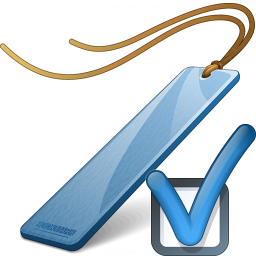 Bookmark Blue Preferences Icon 256x256