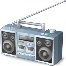 Iconexperience V Collection Boombox Icon