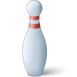 Iconexperience V Collection Bowling Pin Icon