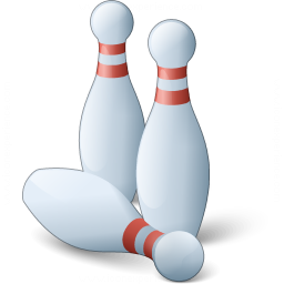 Bowling Pins Icon 256x256