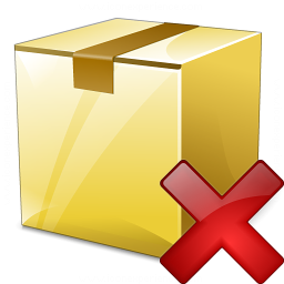 Box Closed Delete Icon 256x256