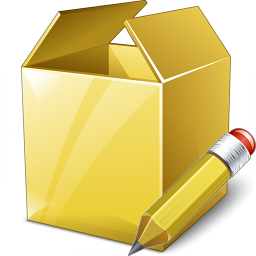 Box Edit Icon 256x256