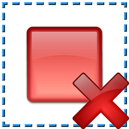 Breakpoint Selection Delete Icon 256x256