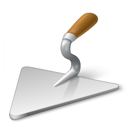 Brick Trowel Icon 256x256