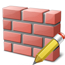 Brickwall Edit Icon 256x256