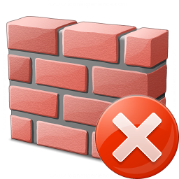 Brickwall Error Icon 256x256