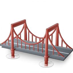 Iconexperience V Collection Bridge Icon