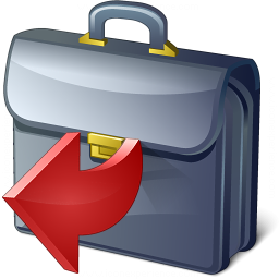 Briefcase Out Icon 256x256