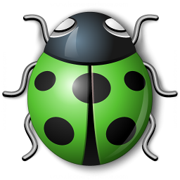 Bug Green Icon 256x256