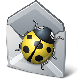 Bug Mail Icon 256x256
