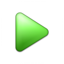 Bullet Triangle Green Icon 256x256