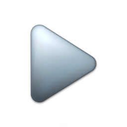 Bullet Triangle Grey Icon 256x256