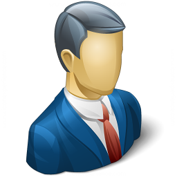 Businessman Icon 256x256