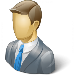 Businessman 2 Icon 256x256