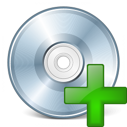 Cd Add Icon 256x256
