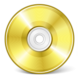 Cd Gold Icon 256x256
