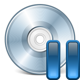 Cd Pause Icon 256x256