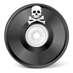 Cd Pirated Icon 256x256