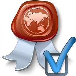 Certificate Preferences Icon 256x256