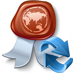 Certificate Refresh Icon 256x256
