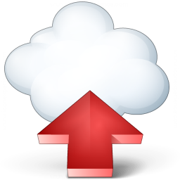 Cloud Computing Upload Icon 256x256