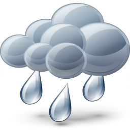 Cloud Rain Icon 256x256