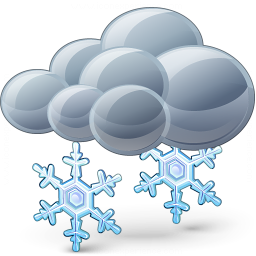 Iconexperience V Collection Cloud Snow Icon