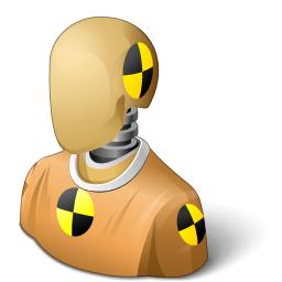 Iconexperience V Collection Crash Test Dummy Icon