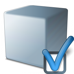 Cube Grey Preferences Icon 256x256
