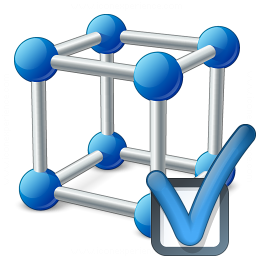 Cube Molecule Preferences Icon 256x256