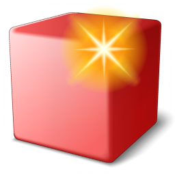 Cube Red New Icon 256x256
