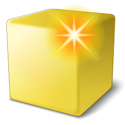 Iconexperience V Collection Cube Yellow New Icon