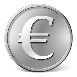 Currency Euro Icon 256x256
