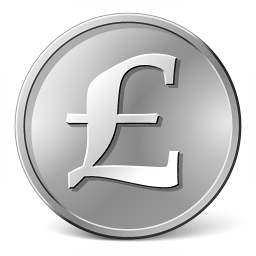 Currency Pound Icon 256x256
