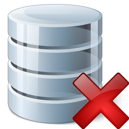 Data Delete Icon 256x256