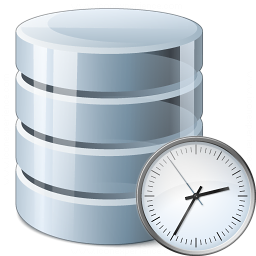 Data Time Icon 256x256