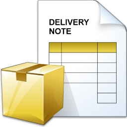 Delivery Note Icon 256x256