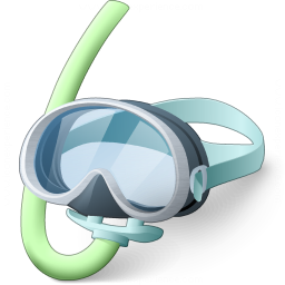 Diving Mask Icon 256x256