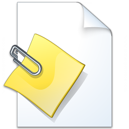 Document Attachment Icon 256x256