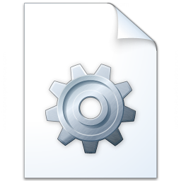 Iconexperience V Collection Document Gear Icon