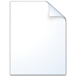 Document Plain Icon 256x256