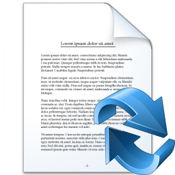 Document Refresh Icon 256x256