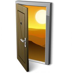 Iconexperience V Collection Door 2 Open Icon
