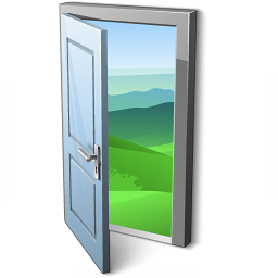 Door Open Icon 256x256